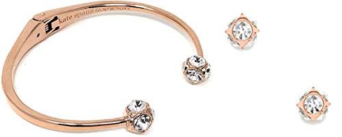 Kate Spade New York Love Lady Marmalade Bracelet bundled with Kate Spade New York Lady Marmalade Earrings Rose Gold