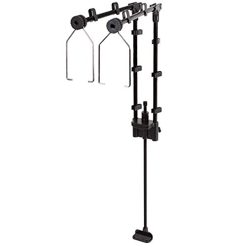 REPTI ZOO Reptile Dual Lamp Stand Lamp Hanger Holder Adjustable Metal Lamp Support for Reptile Glass Terrarium Heating Light