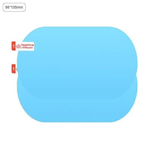 N\A Auto-Aufkleber for Auto-Rückspiegel Glas -Pack von 2ST Regenschutz Film Anti-Fog-Seitenscheibe Reflective Anti-Scratch-Schutzfolie transparent Selbstklebendes Band (Color Name : A)