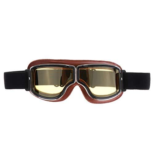 Motorradbrillen Skibrille Gletscherbrille Schutzbrille Fliegerbrille Schneebrille Radsportbrille für Motorrad Helm