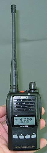 Walkie Talkie Alinco DJ-A446 PMR-446, profesional, resistente al agua, muy por la labor, PMR (LPD), programable mediante PC