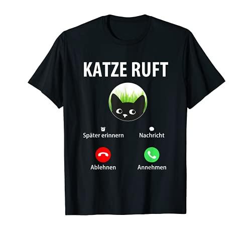 Gato llamado – Diseño de gatos, amigos de los gatos, regalo para mamá de gato. Camiseta