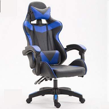 SJVR Gaming Stuhl Computer Spielstuhl, Gaming Racing PC Gamer Stuhl Gaming Stuhl ergonomische Computer Sessel Anker Home Cafe Spiel wettbewerbsfähige Sitze Farbe