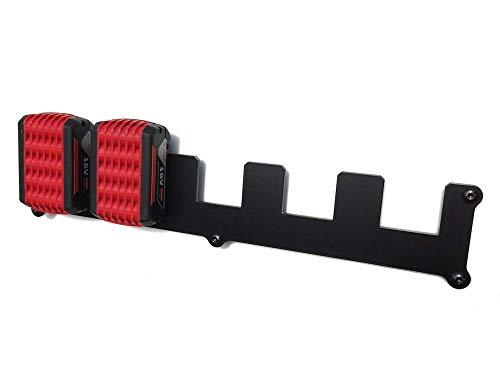 Wandhalterung passend für Bosch Professional Akku 18V-LI Procore Wandhalter … (5 Akkus)