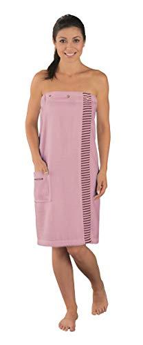 Schiesser Damen Saunakilt Rom, Farbe: rosa