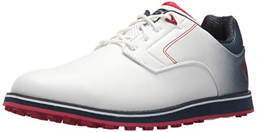 Callaway Herren LaJolla SL Golfschuh, Weiá (weiß/Marineblau), 45 EU