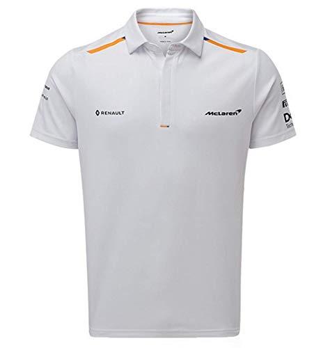 McLaren F1 Team - Polo para hombre, color blanco, Medium, Blanco