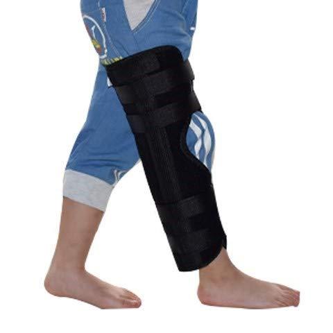 Pediatric Leg Immobilizer Kids Knee Brace Support Child Knee Fixed Splint Leg Fracture Splint Knee & Leg Immobilizer / Knee Splint / Knee Brace (S: length 11.8'')