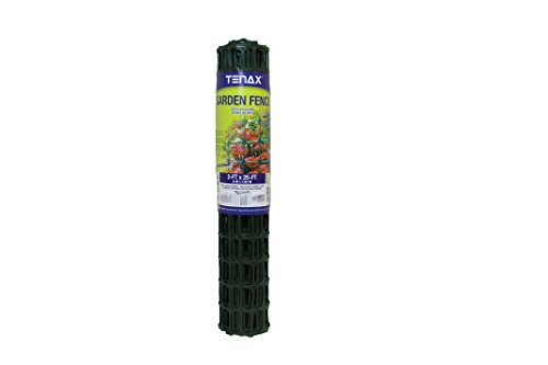 Tenax Garden Fence, 2 x 25-Feet, Green