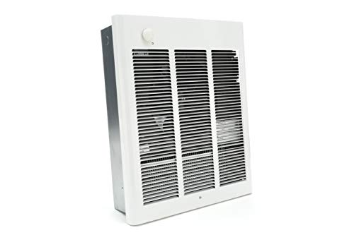 Fahrenheat FZL4004F High Capacity Fan Forced Wall Heater for Entryways and Vestibules, White
