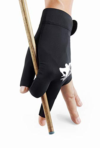 Roaming Billiards Glove Carom Pool Glove Snooker Cue Sport Glove Fit on Left or Right Hand for Men Women