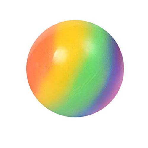 UAIUI Balles Anti-Stress - Balle de Jouet de Stress Compressible Balle en Gel pour Exercice De La Main, pour Les Adultes Et Les Enfants afin De Les Aider À Lutter Contre Le Stress Et L'anxiété (6cm)