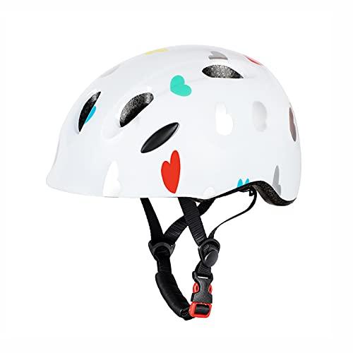 Yaxing Casco de Bicicleta para niños/niños,Casco Bicicleta Ligero,Casco de Ciclismo Ajustable,Cascos de Skate Desmontables para Deportes de Calle - Ciclismo,Scootering (3-9 años)