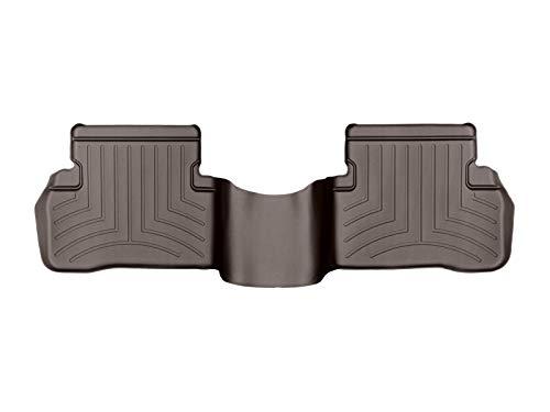 WeatherTech FloorLiner pour Mercedes-Benz C berline W205/Wagon S205 Boîte Auto 2014-19 Cacao 2ème Rangée