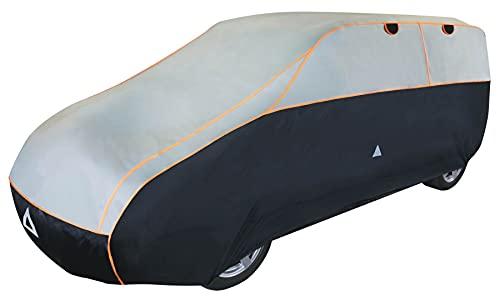 Walser Auto Hagelschutzplane Perma Protect SUV wasserdichte atmungsaktive Hagelschutzgarage für optimalen Hagelschutz, Größe: XL 30986