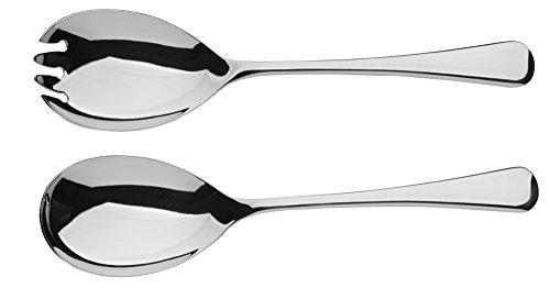 Arthur Price Of England, 2 Pezzi, Acciaio Inox 18/10 Cucchiaio e forchetta, Colore: Argento