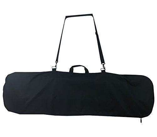 Axiboard Snowboard Bag, Board Sleeve Black 55 inch bag for Smaller Boards Youth. Kids Snowboard Bag.
