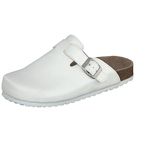 Softwaves, Mules pour Femme - Blanc - White,