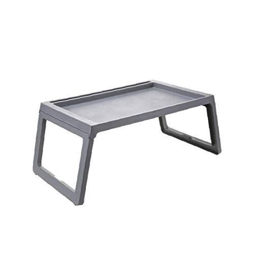 sjqc9561 Faltbare Kunststoff Laptop Bett-behälter-Tisch Tragbaren Laptop Schreibtisch Frühstück Nachttisch Serviertablett