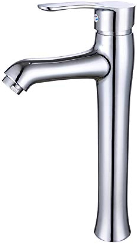 Basin faucet bathroom hot and cold double control single hole Grünical basin mixing