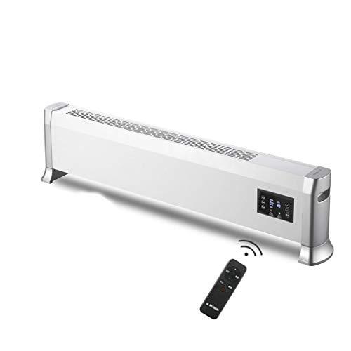 Vloerverwarming radiator heater electric, vloerverwarming snelle warmtebesparing grilled vuurarm huishouden slaapkamer woonkamer vloerverwarming convectoren Long section B