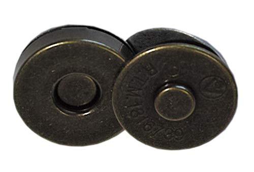 M-71 マグネットホック 12mm 4色 アンチックゴールド