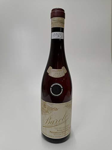 Vintage Bottle - Mascarello Giuseppe Barolo Riserva DOC 1961 0,72 lt. CLEAR COLOR - COD. 1945