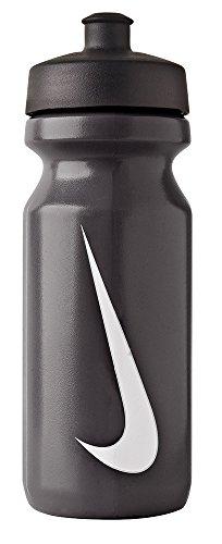 Nike Erwachsene Big Mouth Water Bottle Trinkflasche, mehrfarbig (Black/White), 650 ml