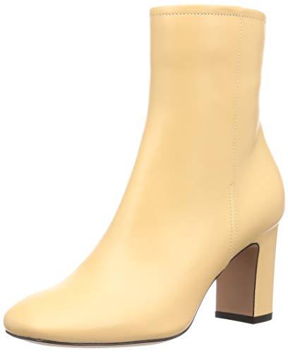 [ペリーコ] ショートブーツ 7343 APEMA80 SEMI SQUARE TOE SHORT BOOTS レディース バターミルク 24.5 cm