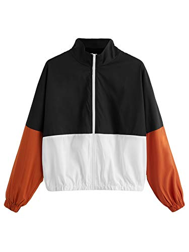 Black Jacket With Orange Strings Fashion