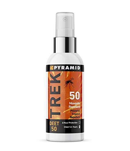 Pyramid Trek 50 Insect/Mosquito Repellent Deet Spray (60ml, 1 Bottle)