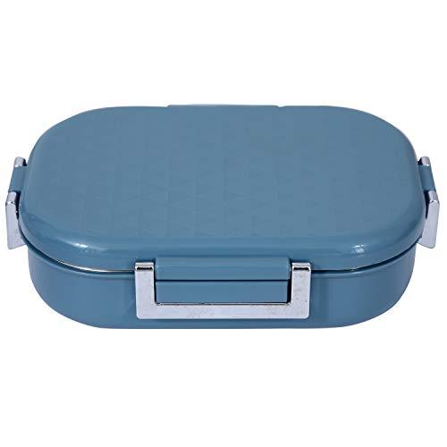 Jaypee Plus Stainless Steel Lunch Box Snapsteel Blue