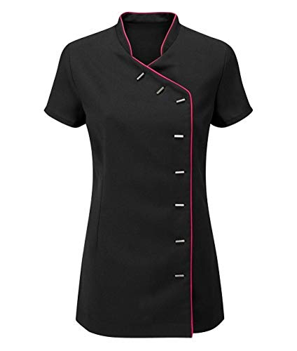 Islander Fashions dames Beauty Spa kapsalon tuniek bovenstuk vrouwen massage therapeut uniform EU 36-52