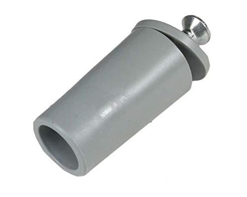 Rolladen Stopper 40 mm lang in grau Anschläge 10 Stück Rolatec Set