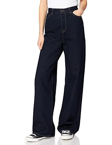 Jack & Jones JJXX JXTOKYO Wide HW CR6004 Noos Jeans, Dark Blue Denim, 29/34 aux Femmes