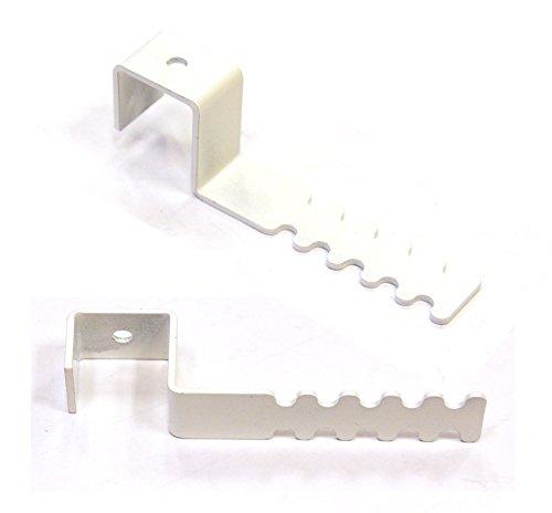 Robert Winkelsträter GmbH & Co. KG Dekohaken-Set (2 Stück) mit Abstandhalter für Fensterrahmen 15-18 mm