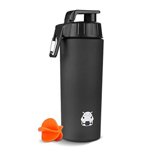 BONMIXC Protein Shaker 800ml Shaker Becher Eiweiß Shaker Protein-Shake Tritan Fitness Shaker Bottle Shaker