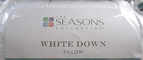 Seasons Collection The White Down Standard/Queen Back/Stomach Sleeper Pillow (Standard/Queen) (Standard/Queen Back/Stomach)