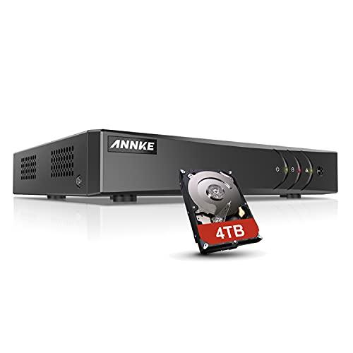 ANNKE 16 Channel CCTV DVR Recorder FHD 5MP 5in1 Hybrid DVR for Home...
