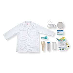 melissa & doug scientist role play costume set, - 31c 9XHJ1yL - Melissa & Doug Scientist Role Play Costume Set,