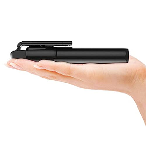Selfie-Stick, ausziehbar, Bluetooth, mit kabelloser Fernbedienung, kompatibel mit Samsung Galaxy, Huawei, iPhone, Selfie