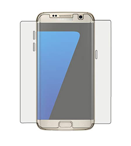 Kit Pelicula Curves Pro + Capa Transparente TPU para Samsung Galaxy S7 Edge, HPrime, Película Protetora de Tela para Celular, Transparente