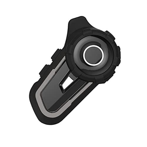 Dan&Dre Casco de la motocicleta sistemas de comunicación impermeable casco Bluetooth intercomunicador reducción de ruido moto auriculares Bluetooth