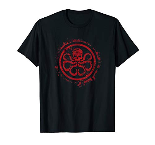 Marvel Hail Hydra Logo Graphic T-Shirt