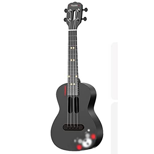 XYF 23 Zoll Kleine Gitarre Sopran-Ukulele Für Anfänger, Professioneller Holz-Ukelele-Bausatz, Snowboard-Ukulele Für Schüler Und Erwachsene (Color : B, Size : 23 INCHES)