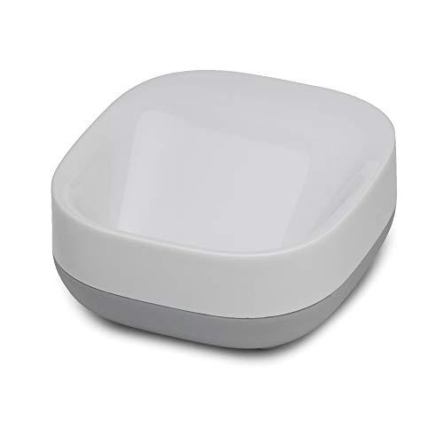 Joseph Joseph Bathroom Slim Compact Soap Dish- White/Grey