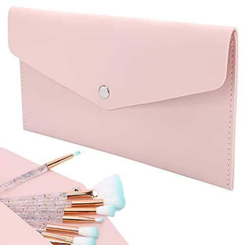 Organizador del cepillo del maquillaje, diseño resistente al desgaste del botón del bolso del cepillo cosmético para el hogar para el viaje