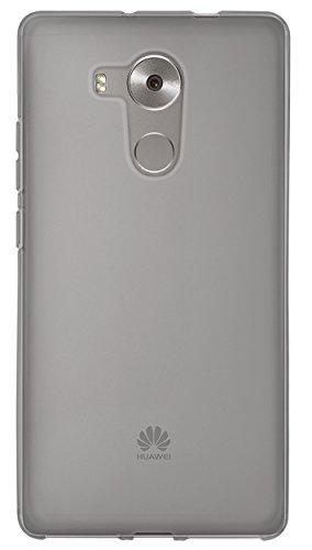 mumbi Hülle kompatibel mit Huawei Mate 8 Handy Case Handyhülle, transparent schwarz - 4