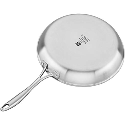 Zwilling  J.A. Henckels Spirit Non Stick Fry Pan, 12 Inch, Ceramic Fry Pan, Stainless Steel