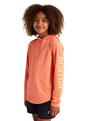 Burton Kids Spurway Tech Pullover, Pink Sherbet, 4T